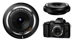 Robin Wong: Olympus Product Announcements: OM-D E-M10, 14-42mm Pancake Zoom Lens, 25mm F1.8 Prime Lens and Fisheye Body Cap Lens