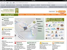 eHealth/TeleHealth for GPs and Specialists in Australia | eHealth