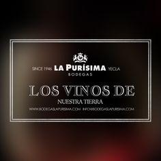 Los vinos de nuestra tierra. Wine, Wine Cellars, Earth