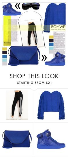 """""""ROMWE"""" by sweta-gupta ❤ liked on Polyvore featuring 3.1 Phillip Lim, Valextra, Moschino, ZeroUV and Seed Design"""