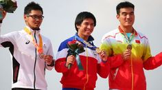 Olympic biker, Daniel Caluag, wins Philippines' first gold in Asian Games 2014 | Pinoy Headline dot Com