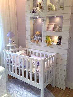 Quarto Bebê empreendimento Vintage Condomínio Clube #SP / Vintage Condomínio Clube Baby Bedroom