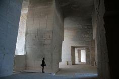 Carrières de Lumières aux Baux de Provence Architecte Jean Bosc