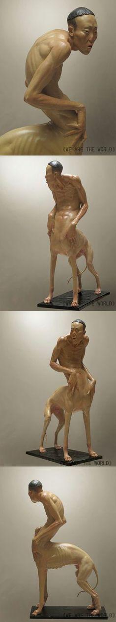Art Nouveau, Weird Art, Creature Design, Installation Art, Oeuvre D'art, Sculpture Art, Les Oeuvres, Art Dolls, Sculpting
