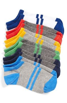 Tucker + Tate 'Random Feed' Sock Liners (6-Pack) (Toddler, Little Kid & Big Kid) available at #Nordstrom