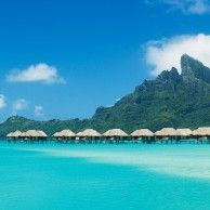 #BoraBora #TravelTuesday: I'm pinning the responses from my  #LuxeTravelLife followers who answered the following : If I could live someplace else for a year, it would be _______________.