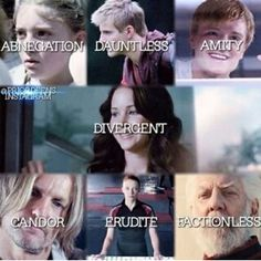 Haha Snow is Factionless XD but still what did Katniss choose!?