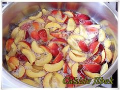 Turkish Recipes, Fruit Salad, Preserves, Tiramisu, Acai Bowl, Frozen, Strawberry, Cookies, Canning