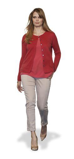 Viernes casual elegante, tallas grandes #white #curvy #model #fashion #woman #lookbook #fall #winter #collection #FW