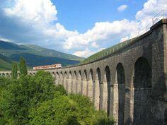 canfranero Viaducto de Cenarbe