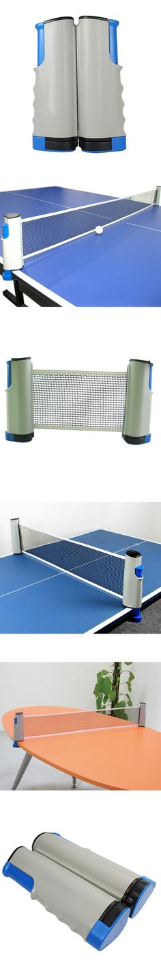Flexible Table Tennis Net Retractable Ping Pong Net Rack Tenis de mesa Accesorios Portable Tennis Kit 175*19cm