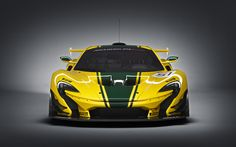 McLaren P1 GTR transitions from concept to production for geneva 2015