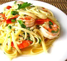 Scampi Pasta Recipe #Dinner #Pasta #Scampi