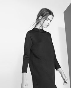 Minimal Black Dress - understated style, elegant simplicity