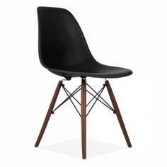 Eames Style Black DSW Chair | Side & Cafe Chairs | Cult Furniture