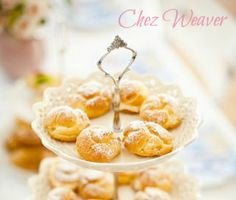 Lacey's specialty cream puffs, served up at a fancy charity gala chez Weaver, where she spends time with her dear friend Dan #Dacey (Illustration for Scene 1.10: Trophies and Pastries)