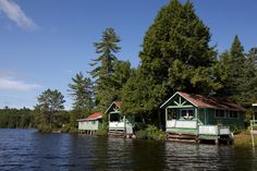 Camp Wapomeo for Girls, perhaps the coolest camp cabins this camper has ever seen!