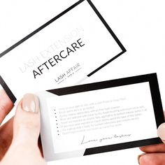 Eyelash Extension Aftercare Cards | Lash Artist Products – Lash Affair #EyelashExtensionsStyles Eyelash Extensions Aftercare, Mink Eyelash Extensions, Sims 4 Lashes, Rodan And Fields, Fake Lashes, Eyelashes, Lash Intensity Mary Kay, Eyelash Extensions Before And After, Microblading Aftercare