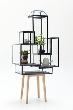 This beautiful Steel Cabinet by Sylvie Meuffels for Studio JSPR fits our new Go Green interior #trend perfectly!