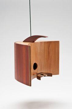 Birdhouses Inspired by Mid-Century Modern Design
