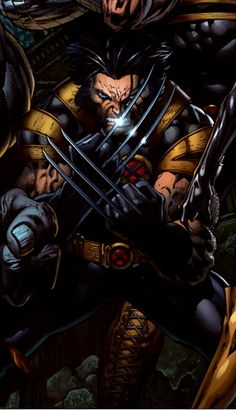 Wolverine by David Finch. Comic Movies, Comic Book Characters, Comic Book Heroes, Marvel Characters, Comic Character, Comic Books Art, Comic Art, Marvel Comic Universe, Marvel Comics Art