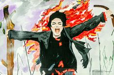 Picturi Michael Jackson! Michael Jackson, Painting, Street, Art, Art Background, Painting Art, Paintings, Roads, Kunst