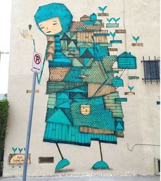 I love the whimsical worlds created by Perth artist  Kyle Hughes Odgers - Venice Beach, CA - 2014 (LP)