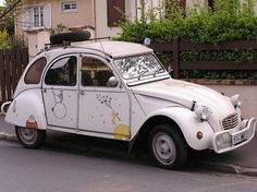 Le Petit Prince - the car