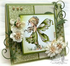 image by Sylvia Zet for Wee Stamps, colored with copics,