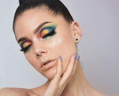 【ρinterest: LizSanez✫☽】Linda Hallberg Makeup - glittery tears