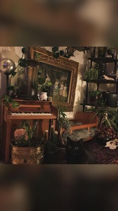 Pretty Room, Painting Wallpaper, Green Rooms, Home Decor, Art, Ideas, Bohemian, Green Living Rooms, Art Background