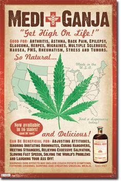 Marijuana - Medical Poster