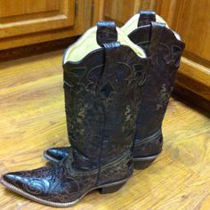 Corral boots I just bought!