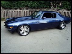 1973 Chevrolet Camaro Pro Touring..Re-Pin brought to you by #CarInsuranceagents at #HouseofInsurance in #EugeneOregon
