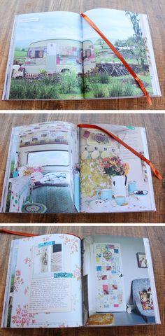 vintage caravan renovation project patchwork feature wall wallpaper cassiefairy Granny Chic book