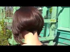 Graduated Bob Hairstyle - YouTube