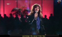 "Laura 1982, Germany TV-show ""Disco"""