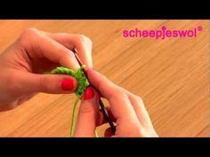 Leren Haken - Vasten - Leer haken met Scheepjeswol