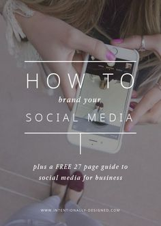 Show off your brand through social media. Here are some tips on how to be consistent in your brand image.