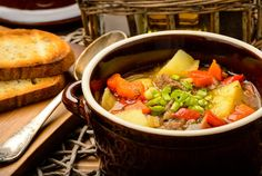 Goulash | The hearty soup-stew known around the world began as the everything-goes-in meal of Hungarian herdsmen