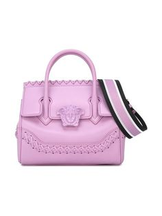 Versace Pink, Versace Bag, Versace Handbags, Backpack Purse, Tote Bag, Bag Quotes, Stylish Handbags, Luxury Bags, Luggage Bags