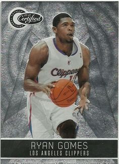 2010-11 TOTALLY CERTIFIED #32 RYAN GOMES CLIPPERS 1159/1849 50 CENT SHIP…
