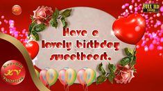 """Greetings for Happy Birthday, Free Animated Ecards, Wishes for Lover (Birthday Video). Your Search for """"Birthday"""" Ends Here. Wish your Dear one's anywhere in. Birthday Wishes For Lover, Happy Birthday Video, E Greetings, Birthday Greetings, Free Animated Ecards, Special Events, Special Occasion, Whatsapp Videos, 3d Animation"""