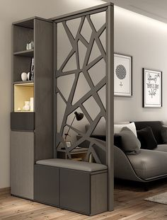 Living Room Partition Design, Living Room Divider, Living Room Tv Unit Designs, Room Partition Designs, Living Room Decor, Kitchen Room Design, Home Room Design, Interior Design Living Room, House Design