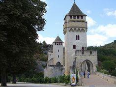 Pont Valentré .Cahors (Lot) - Midi-Pyrenees