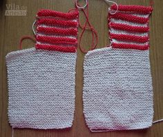 Prepare mais um pé Baby Booties Knitting Pattern, Knitted Booties, Crochet Baby Booties, Baby Knitting, Knitted Hats, Knitting Patterns, Sweater Hat, Bebe Baby, Make Up Organiser