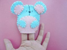 Hi, my name is Mortimer the Finger Puppet Mouse :)