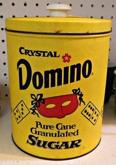 #Vintage Domino Sugar tin  Judy Go Vintage  Tillson, NY  Hudson Valley