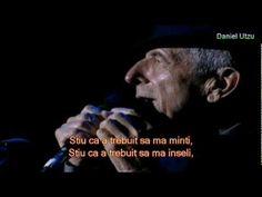▶ Cel mai frumos poem de dragoste: Leonard Cohen - A Thousand Kisses Deep - YouTube