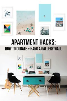 How to Curate + Hang a Gallery Wall Like a Design Pro » We invited Vancouver-based design blog, Poppytalk, to re-imagine a blank wall in their home with a Society6 art gallery wall. (spoiler: you can totally do this in your own space, no design background required.)